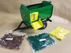 Green & Yellow Lil' Mix Toy Feeder Wagon