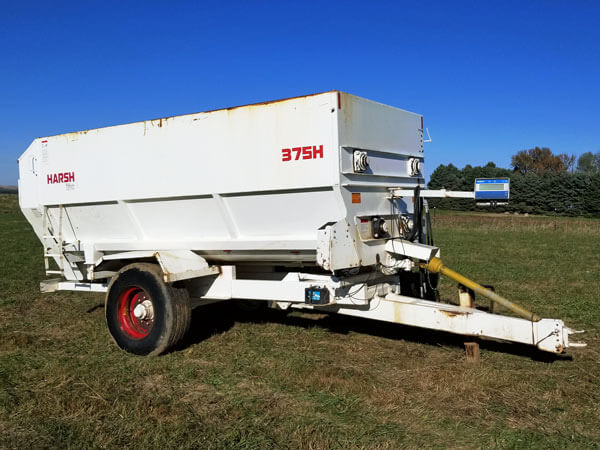 Harsh-375H-4-Auger-Mixer
