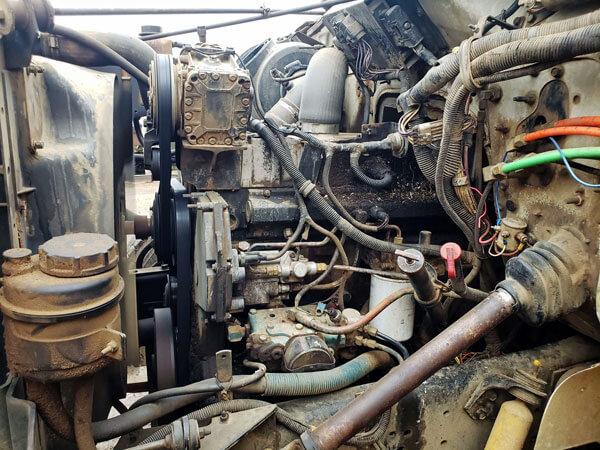 Knight-3070-Reel-Mixer-on-1997-IH-Truck
