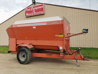 Oswalt-400-Four-Auger-Mixer-Wagon-ID3315