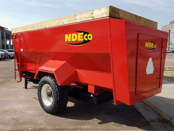 NDE-H460-Horizontal-3-Auger-Mixer-Wagon