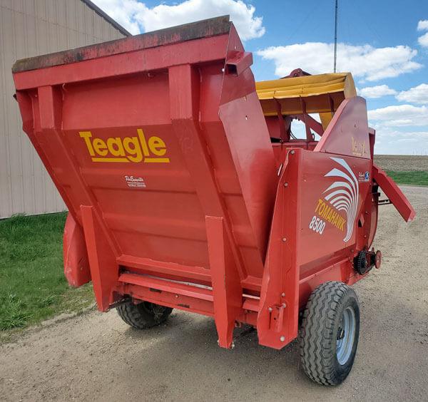 Teagle-8500-Bale-Processor
